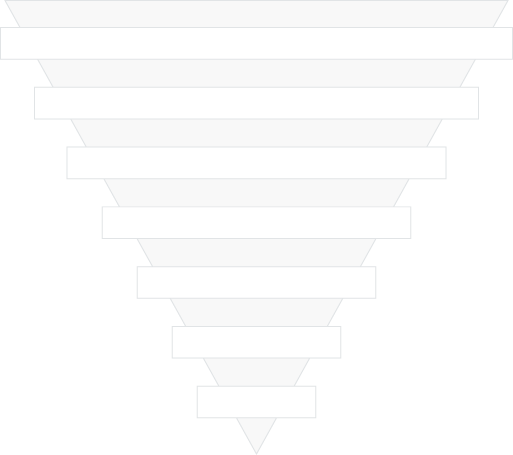 Inverted Pyramid Outline Template